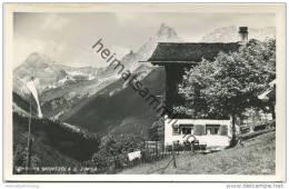 Schruns - Montjola Gegen Zimba - Foto-AK - Verlag Risch-Lau Bregenz Gel. 1951 - Schruns