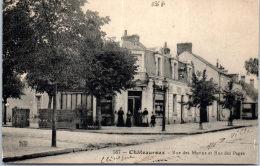 36 CHATEAUROUX - Rue Des Marins Et Rue Des Pages - Chateauroux