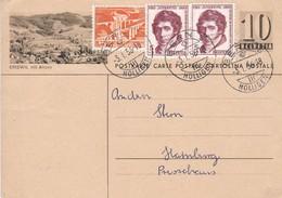 Bild-Postkarte ERISWIL Mit Ahorn  Mit Zusatzfrankatur Mi: 530 + 2x 618 - Enteros Postales