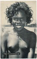 AUSTRALIA - A Happy Aboriginal Girl - Nu - Aborigènes