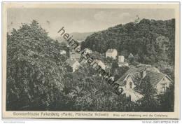 Falkenberg - Blick Auf Falkenberg Und Die Carlsburg - Verlag Erna Schepp Falkenberg Gel. 1940 - Falkenberg (Mark)
