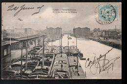 75, Paris, Perspectives, Le Port De La Vilette - Arrondissement: 19