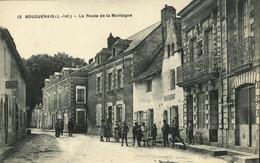 44 - Bouguenais - La Route De La Montagne (animée) - Bouguenais