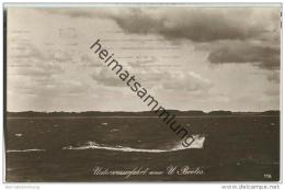 Unterseeboot - U-Boot - Unterwasserfahrt - Foto-AK - Briefstempel Kaiserliche Marine I. Torpedoabteilung - Vornamen