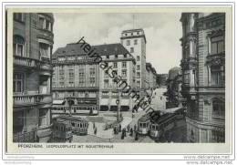 Pforzheim - Leopoldsplatz - Industriehaus - Strassenbahnen - Pforzheim