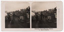 INDIA - STEREO-PHOTOGRAPHIE / OESTLICHER CENTRAL-HIMALAYA (SIKHIM) DAME IM TRAGSTUHL (PHOTO DR.KURT BOECK) -1906 - India