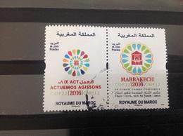 Marokko / Maroc - Complete Set Conferentie Klimaatverandering (9.00) 2016 - Marokko (1956-...)