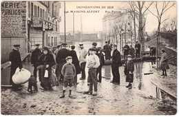 CPA VAL-de-MARNE.MAISONS ALFORT.INONDATIONS DE 1910.RUE PASTEUR - Maisons Alfort