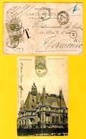 2416/ CP France Montmorency 1904 V.Derdenmonde Gff T Taxée 40 C Par TTx 6(2) C.Termonde - Taxes