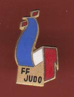 53514-  Pin's-coq. FF Judo. - Judo
