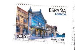 0,35 EURO - 20011 - Architectura - 2011-... Oblitérés