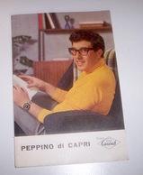 Musica Leggera - Brochure Originale Carish Peppino Di Capri E  I Rockers - 1960 - Special Formats