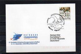 Österreich, 2004, Brief Echt Gelaufen, Sonderstempel Kurzbahn-Schwimm-EM - 1945-.... 2nd Republic