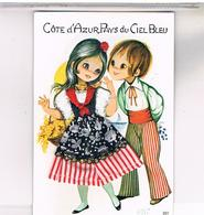 COTE D AZUR BRODEE COUPLE - Brodées