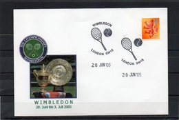 Großbritannien, 2005, Sonderstempel Wimbledon 2005 - 1952-.... (Elizabeth II)