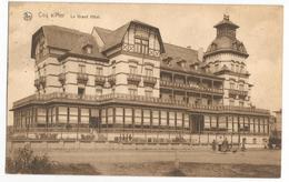 De Haan A/Zee Hotel Restaurant Oude Postkaart Le Coq Le Grand Hôtel Carte Postale Ancienne 1925 - De Haan