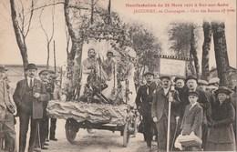 MANIFESTATIONS DU 28.03.1921 A BAR SUR AUBE - LE CHAR DES RAISONS DE JAUCOURT OBTIENT LE 1° PRIX - TOP !!! - France
