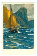 1890's, Italy, Gargnano. Michael Zeno Diemer Printed Chromo Art Pc, Unused. - Diemer, Zeno