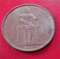 DE628 Nouvelle-Calédonie, 5 Francs, 1952, Paris, TB+, Aluminium - New Caledonia