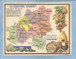 Le Centre-Ouest 2scans Deux-Sèvres Vienne Loiret Indre-et-Loire Loir-et-Cher Creuse Produits Du Lion Noir Ruche Coq - Autres