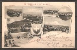 Carte P ( Suisse / Schaffhouse / Centenaire ) - SH Schaffhouse