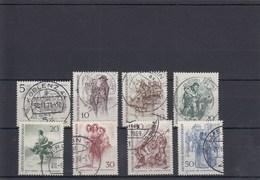 Mi.Nr. 330 - 37 Berliner Des 19. Jahrhunderts - Gebraucht