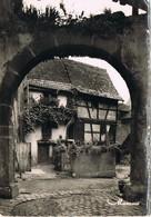 29783. Postal RIQUEWIHR (Alsace) Haute Rhin. Le Cour Des Juifs. Barrio Judio - Riquewihr