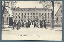 • CPA - CAMP DE MAGNAC-LAVAL (HAUTE VIENNE) - Caserme