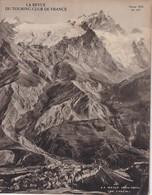 La Revue Du Touring Club 1934 Février, LA MEIJE, Ile De France Et Gâtinais, Mont Perdu Et Gavarnie, Sommaire Scanné - 1900 - 1949