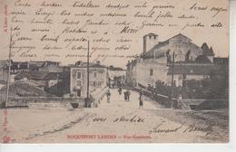 LANDES - ROQUEFORT - Lot De 3 Cartes - Rue Thiers Gambetta & Alphonse Castaing  PRIX FIXE - Roquefort