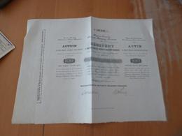 Action 100 Florins Société Anonyme D'assurances Franco Hongroise 1890 - Banque & Assurance