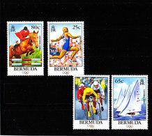 Olympics 1996 - Cycling - BERMUDA - Set MNH - Ete 1996: Atlanta