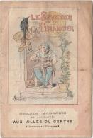 """CV - CLERMONT-FD - Grands Magasins Aux Villes Du Centre - La Fontaine """"Le Savetier Et Le Financier"""" - Publicités"""