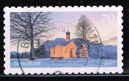 Bund 2017, Michel# 3346 O Weihnachtliche Kapelle, Selbstklebend, Self-adhesive - BRD