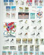 NORVEGE. Lot Modernes Neufs Sur 2 Pages, Paires Se Tenant. - Stamps