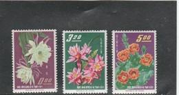 TAIWAN - FLOWER YT 455 + 457 +458 - MI 609 +611 + 612 NEUF ** - MNH - - Unused Stamps