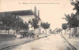 10 - AUBE / Piney - 102556 - école Des Garçons Et Rue Poirier Au Loup - Autres Communes