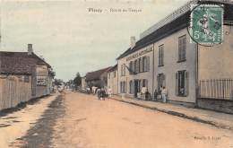 10 - AUBE / Piney - 102584 - Route De Troyes - Gendarmerie Nationale - Beau Cliché Colorisé - Autres Communes