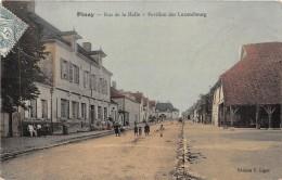 10 - AUBE / Piney - 102586 - Rue De La Halle - Carte Glacée Et Colorisée - Autres Communes