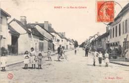 10 - AUBE / Piney - 102593 - Rue Du Calvaire - Beau Cliché Animé - Autres Communes