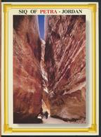 °°° GF521 - JORDAN - SIQ OF PETRA - 1998 With Stamps °°° - Giordania