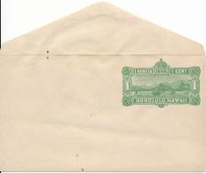 Honolulu, Hawaii  - Enveloppe 1 Cent 1884 Neuve - Port, Voiliers - Hawaii