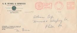 EMA 1935 Sur Imprimé - Hippocrate - Basic Chemicals - Bo-tanical Drug House / Pharmacie - Farmacia