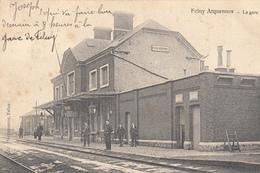 Feluy - Arquennes - La Gare - Carte Animée -  état Voir Scan. - Seneffe