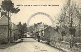 /! 7609 - CPA/CPSM  :  61 -  Gacé : Route De Chambois - Gace