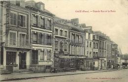 /! 7610 - CPA/CPSM  :  61 -  Gacé : Grande Rue Et La Poste - Gace