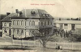/! 7611 - CPA/CPSM  :  61 -  Gacé : Nouvelle école Trégaro - Gace