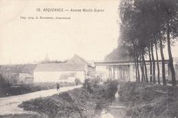 Arquennes - Avenue Moulin Scaron - Très Belle Carte - Carte Animée -  état Voir Scan. - Seneffe
