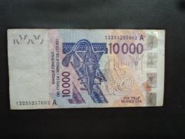 CÔTE D'IVOIRE : 10 000 FRANCS  (20)12   P 118A   TTB - Côte D'Ivoire