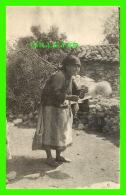 FEMME - DAME QUI ROULE LA LAINE - ÉCRITE EN 1948 - - Femmes